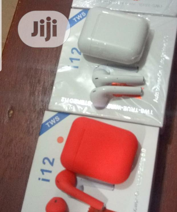 I12 Wireless (White, Red &Black Colours Available)