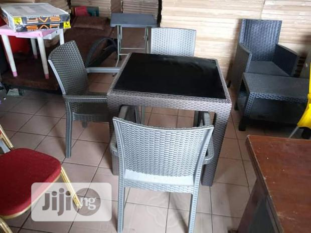 Banquet Table and Chairs by 4 Seaters