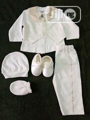 Baby Boy Christening/Naming Set | Children's Clothing for sale in Edo State, Benin City