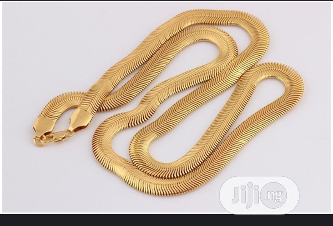 18k Gold Plated Italian Gold Jewlry | Jewelry for sale in Obio-Akpor, Rivers State, Nigeria