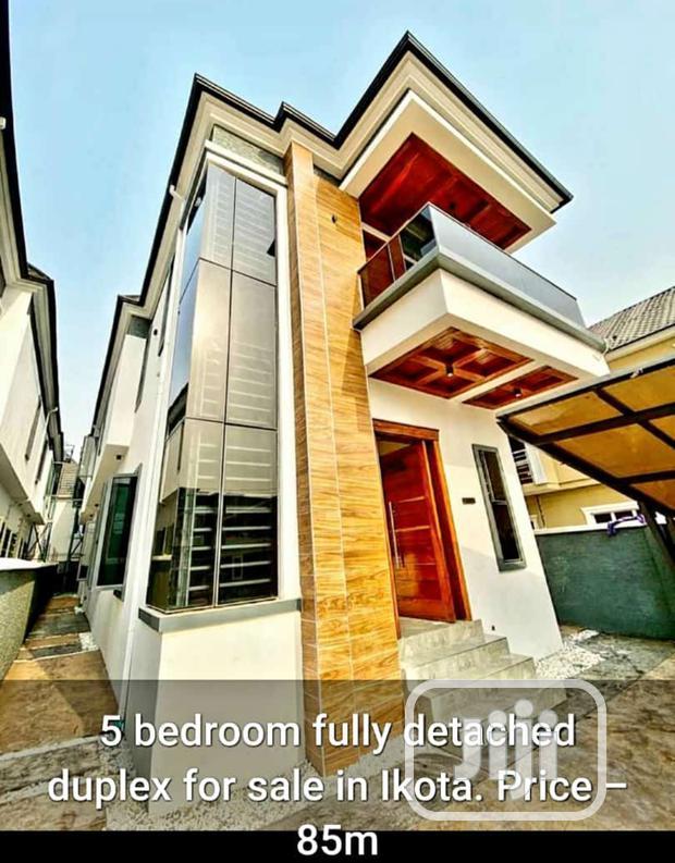 Archive: New 4 Bedroom Semi Detached Duplex At Ikota Villa Estate Lekki Phase 2 For Sale.