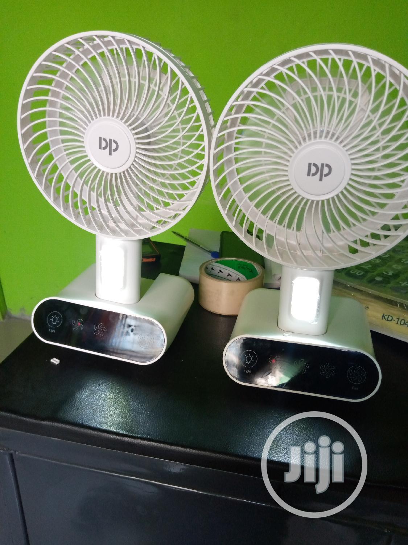 Archive: Rechargeable Table Fan