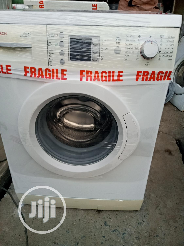 7kg Bosch Washing Machine   Home Appliances for sale in Surulere, Lagos State, Nigeria