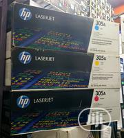 Hp 305A Laser Jet Toner Cartridge Blk/Cyan/Yellow/Magenta   Accessories & Supplies for Electronics for sale in Lagos State, Ikeja
