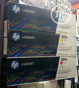 Hp 305A Laser Jet Toner Cartridge Blk/Cyan/Yellow/Magenta | Computer Accessories  for sale in Lagos State, Ikeja