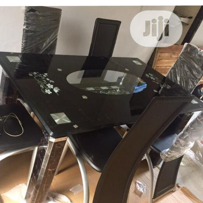 Top Class Glass Dining Table