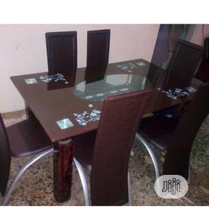 Classic Glass Top Dining Table   Furniture for sale in Lagos State, Oshodi