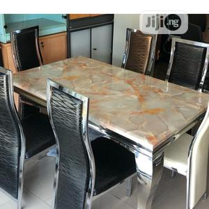 Durable Marble Dining Table   Furniture for sale in Lagos State, Oshodi