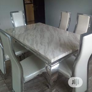 Scratch Free Marble Dining Table   Furniture for sale in Lagos State, Oshodi