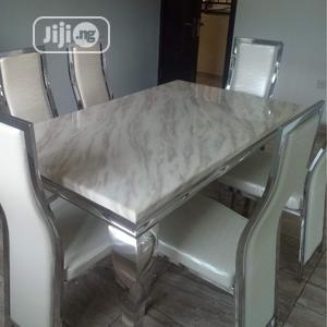 Neat Marble Dining Table   Furniture for sale in Lagos State, Oshodi