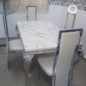 Exotic Four Seaters Marble Dining Table   Furniture for sale in Lagos State, Oshodi