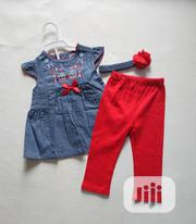 2pcs Top N Leggings | Children's Clothing for sale in Lagos State, Amuwo-Odofin