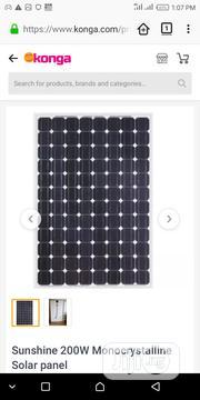 200 Watts Monocrystalline Solar Panel | Solar Energy for sale in Abuja (FCT) State, Jabi
