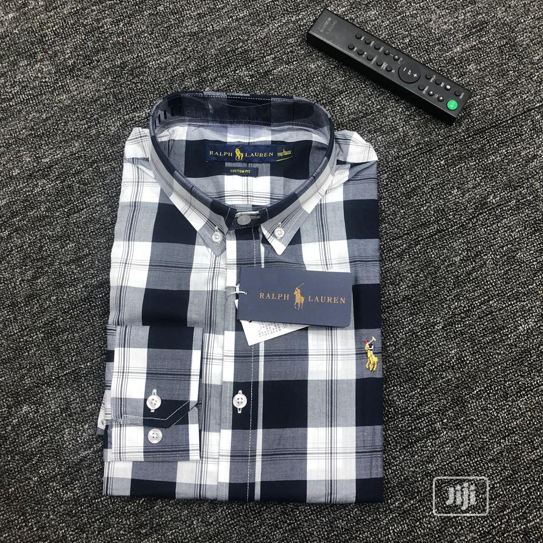 Polo Ralph Long Sleeve Shirts | Clothing for sale in Lagos Island, Lagos State, Nigeria