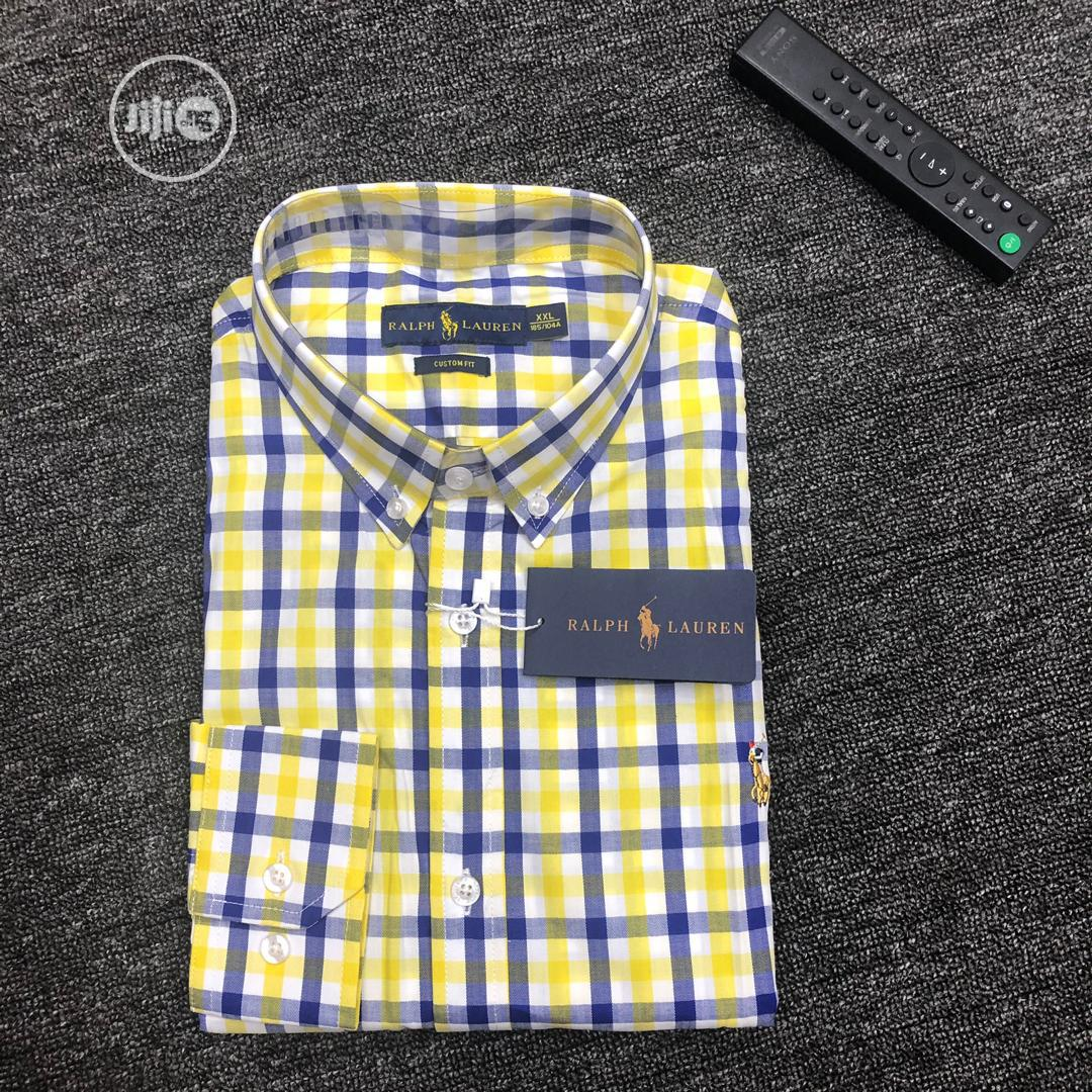 Ralph Lauren Corporate Casual Long Sleeve Shirts | Clothing for sale in Lagos Island, Lagos State, Nigeria