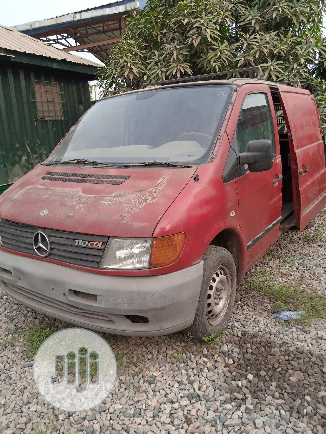 Archive: Mercedes Benz Vito 2000 Red in Kosofe - Buses ...