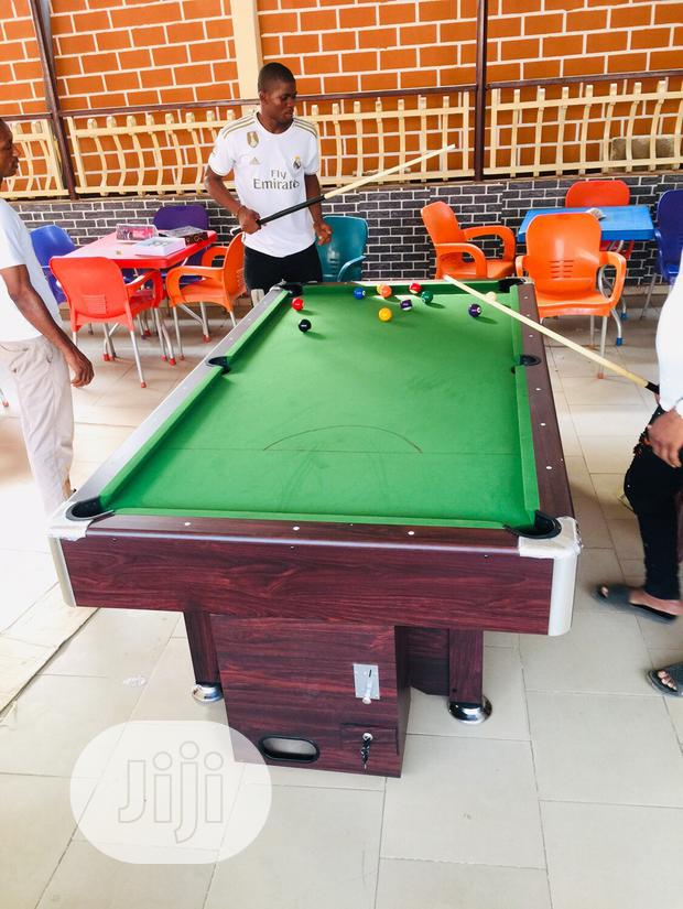 Coin Operated Snooker Board