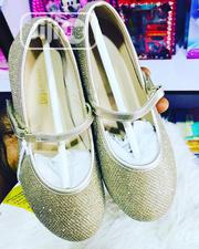 Children Kids Girls Beautiful Dazzling Party Flat Shoes   Children's Shoes for sale in Lagos State, Ikeja