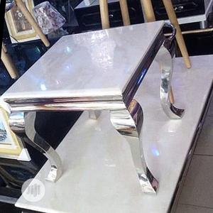 Unique Marble Center Table Side Stool   Furniture for sale in Lagos State, Oshodi
