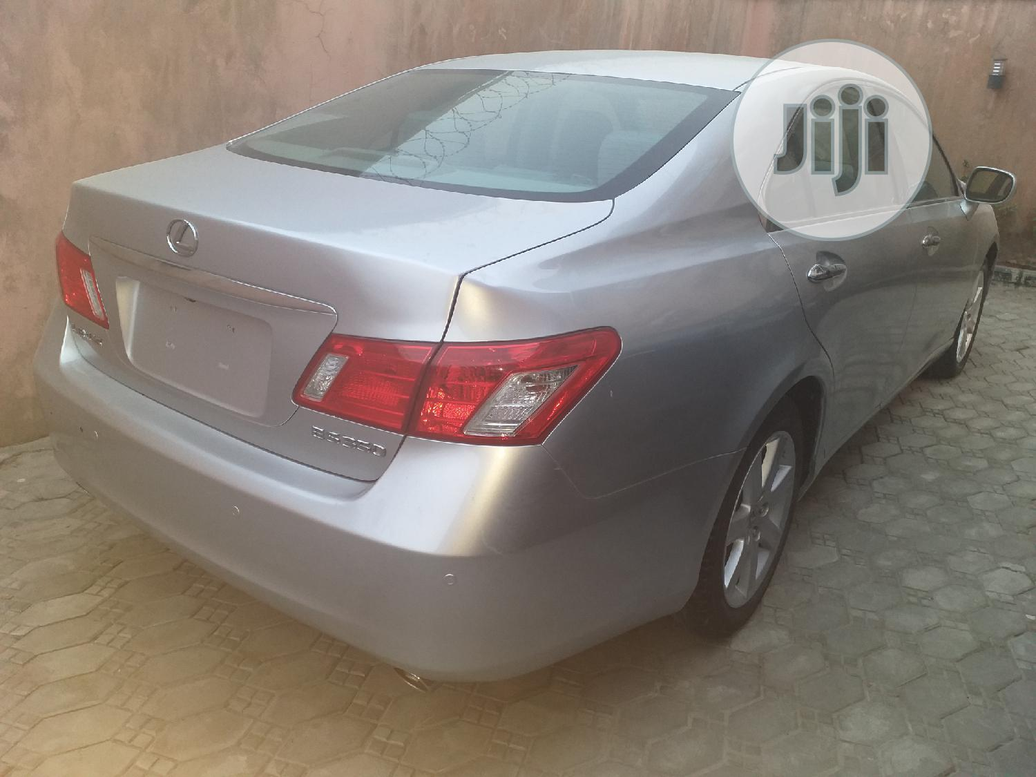 Lexus ES 2008 350 Silver | Cars for sale in Port-Harcourt, Rivers State, Nigeria