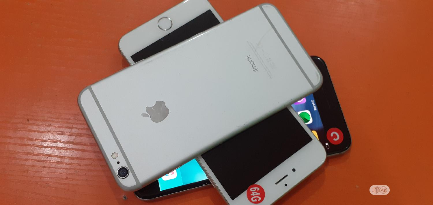Apple iPhone 6 64 GB Silver   Mobile Phones for sale in Port-Harcourt, Rivers State, Nigeria