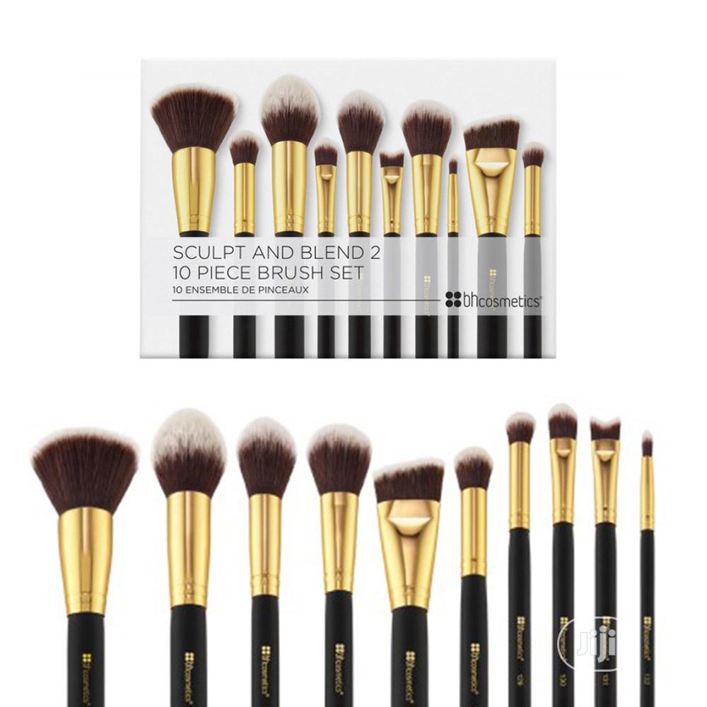 BH Cosmetics Sculpt and Blend 2 – 10 Piece Brush Set