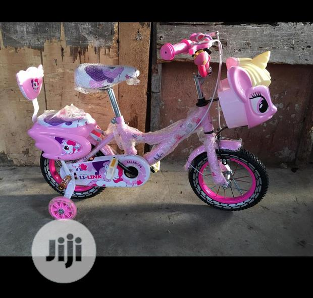 Li Link Princess Bicycle for Kids Under the Age of 3 to 6 Years.
