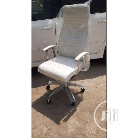 Quality White Executive Office Chair