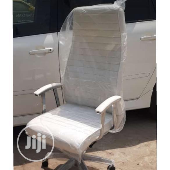 Unique White Executive Office Chair