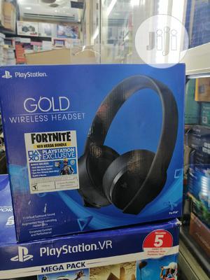 Playstation VR Gold Wireless Headphones | Headphones for sale in Lagos State, Ikeja