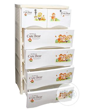 Five Steps Baby Cabinet -cream And Multi | Children's Furniture for sale in Lagos State, Ojota