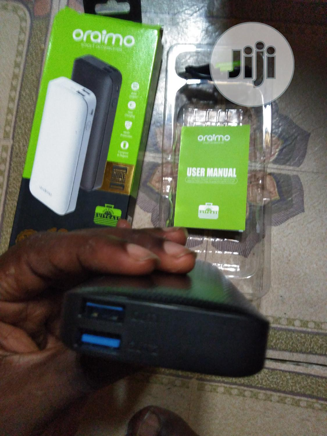 Oraimo 10000mah Power Bank   Accessories for Mobile Phones & Tablets for sale in Surulere, Lagos State, Nigeria