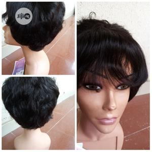 Short Human Hair Wig   Hair Beauty for sale in Lagos State, Ojodu
