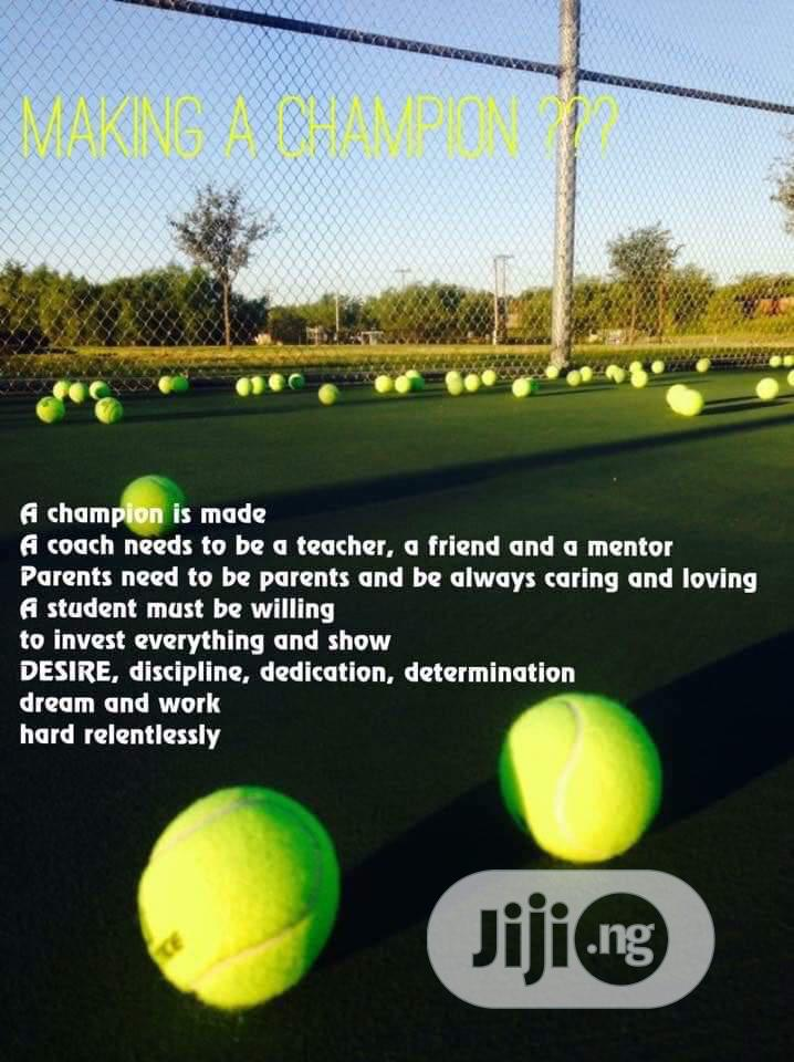 Tennis Coach | Fitness & Personal Training Services for sale in Surulere, Lagos State, Nigeria