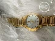 Look World Designers Gold Plated Stainless Steel Wristwatch | Watches for sale in Lagos State, Ibeju