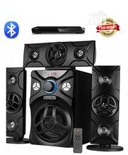 Home Theatre System With Bluetooth + DVD Player Black   Audio & Music Equipment for sale in Lagos State, Ajah