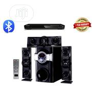 Home Theatre System With Bluetooth + DVD Player Black   Audio & Music Equipment for sale in Lagos State, Amuwo-Odofin