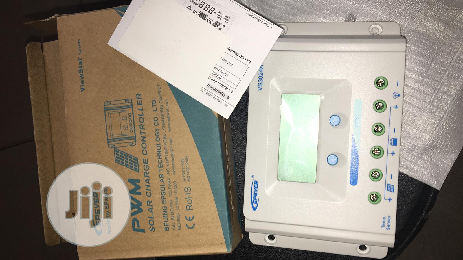 30amps Epever Pwm Charge Controller Available | Solar Energy for sale in Lekki, Lagos State, Nigeria