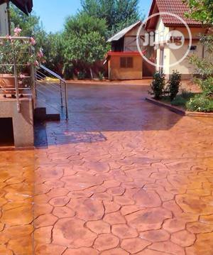 Concrete Stamped Floor | Building Materials for sale in Abia State, Umuahia