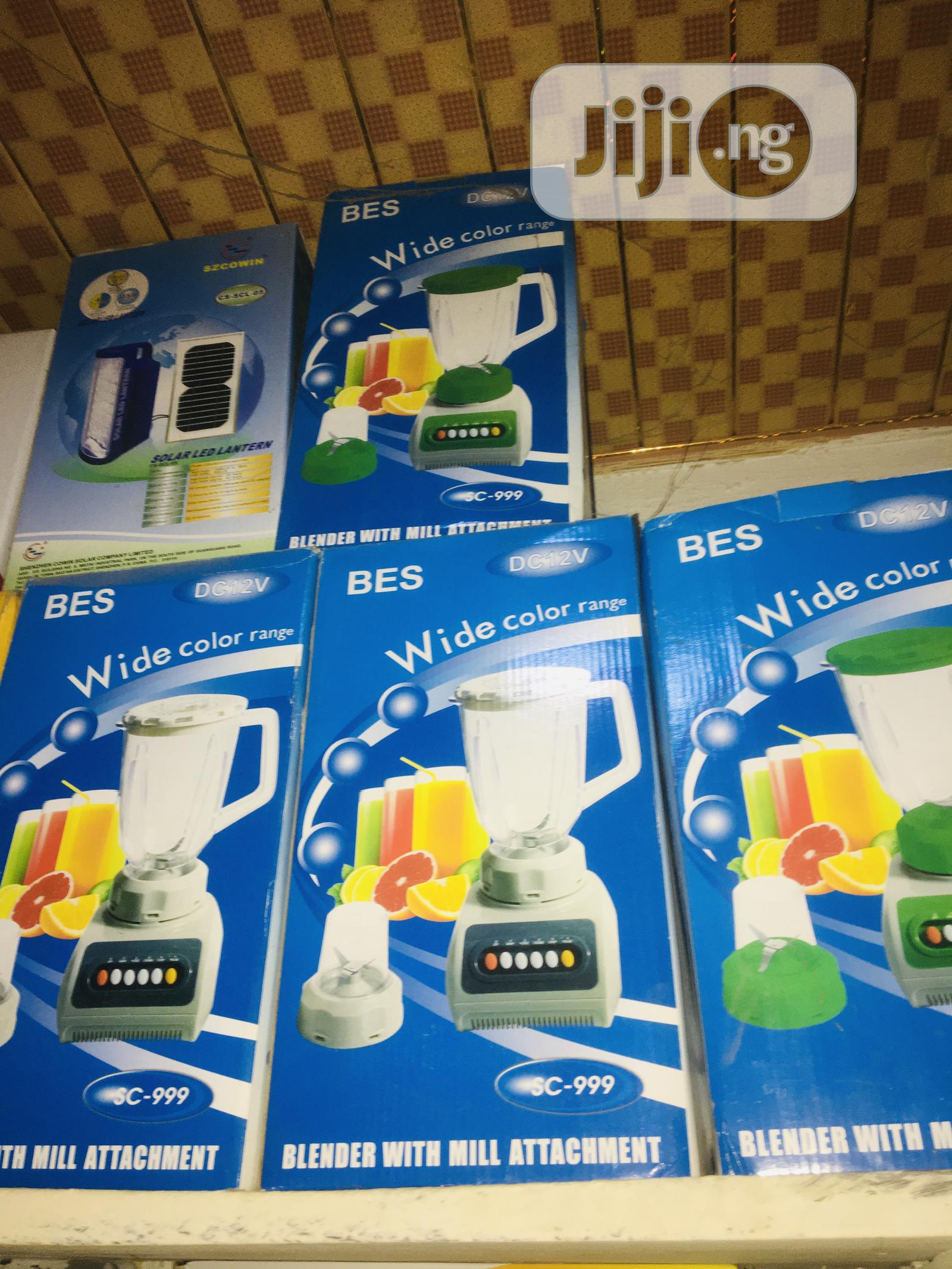 12volts Dc Solar Blender Available Now | Solar Energy for sale in Lekki, Lagos State, Nigeria