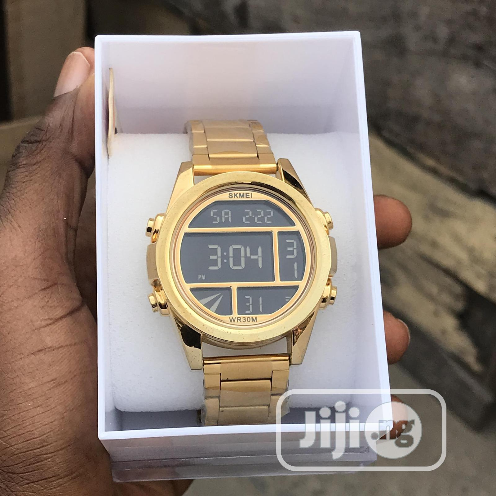 Classic Digital Skmei Wristwatch Available In Storeand In Colors