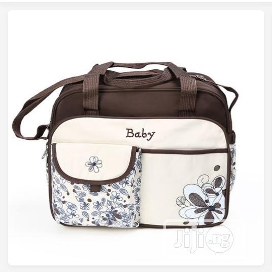 Baby Diaper Bag Large - Brown