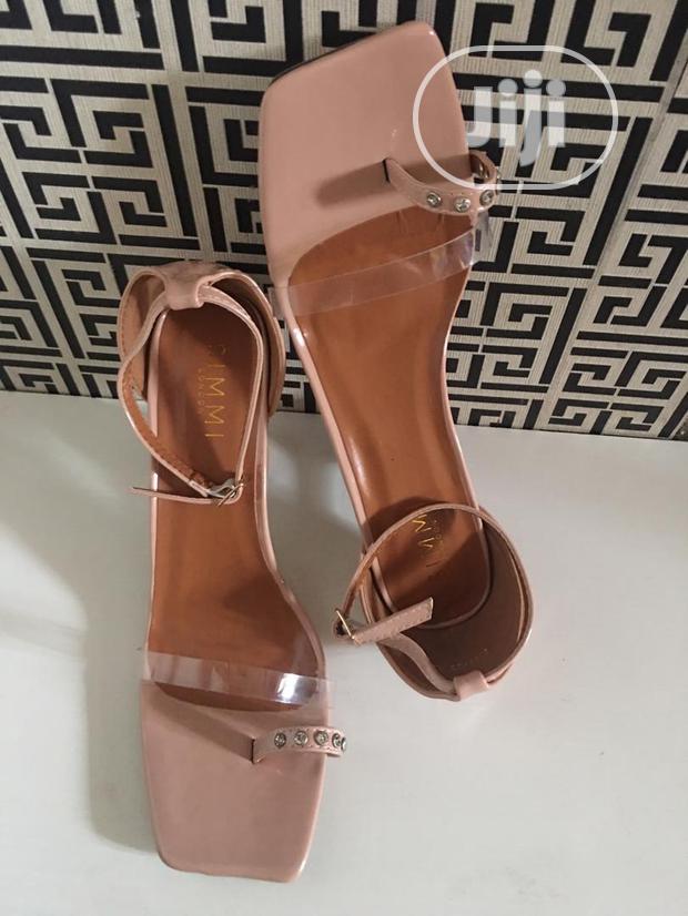 Balanced Ladies Heel Sandal