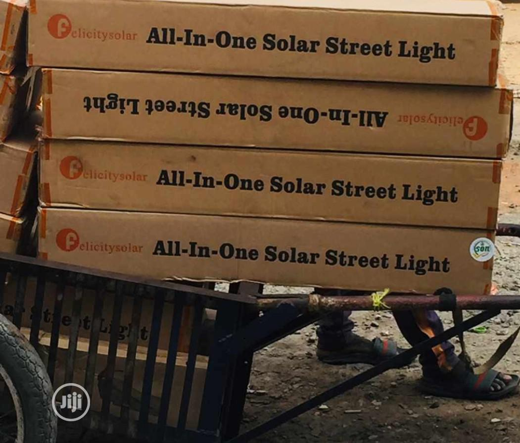 60watt All in One Solar Street Light Is Available | Solar Energy for sale in Ojo, Lagos State, Nigeria