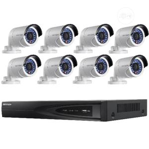 Hikvision 8 CCTV Camera Complete Kit + 1 Terabyte Hard Drive | Security & Surveillance for sale in Lagos State, Ojo