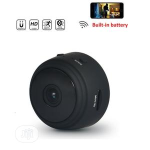 Wifi IP Mini CCTV Camera With Inbuilt Battery + 32GB Card | Security & Surveillance for sale in Lagos State, Ojo
