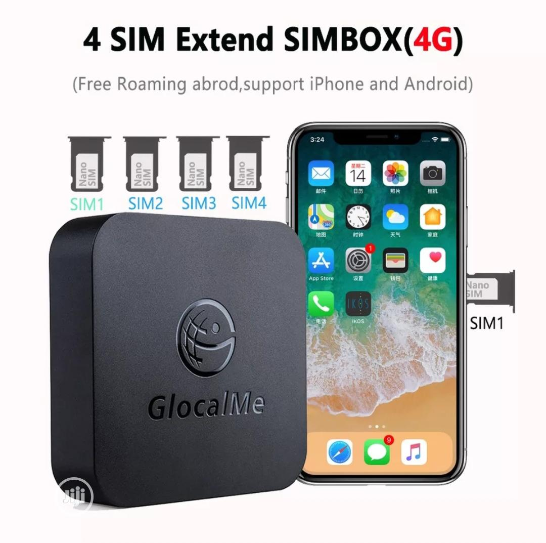 Glocalme 4SIM Extend SIMBOX(4G) | Accessories for Mobile Phones & Tablets for sale in Lekki Phase 1, Lagos State, Nigeria