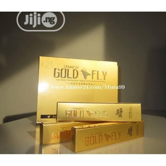 Spanish Gold Fly Female Sexual Libido Enhancer Liquid Drops