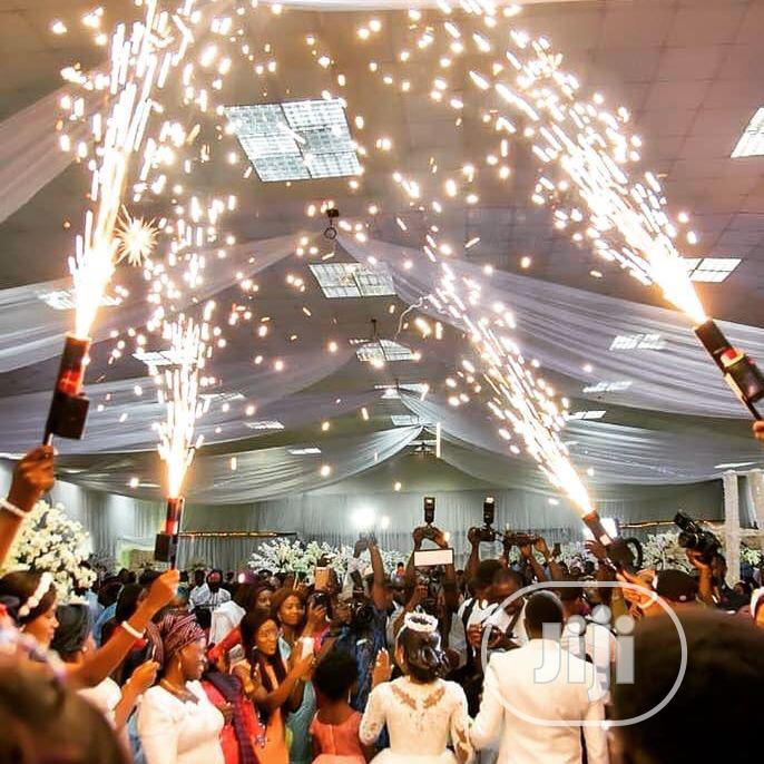 Raining, Walk Way And Spinning Fire Works   Party, Catering & Event Services for sale in Agege, Lagos State, Nigeria