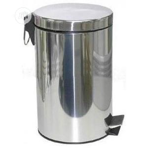 Quality Stainless Steel Pearl Waste Bin 12LTR | Home Accessories for sale in Lagos State, Lagos Island (Eko)
